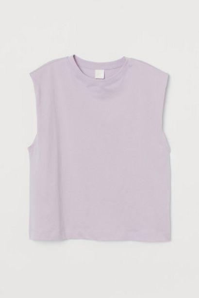 T-shirt sans manches offre à 3,99€