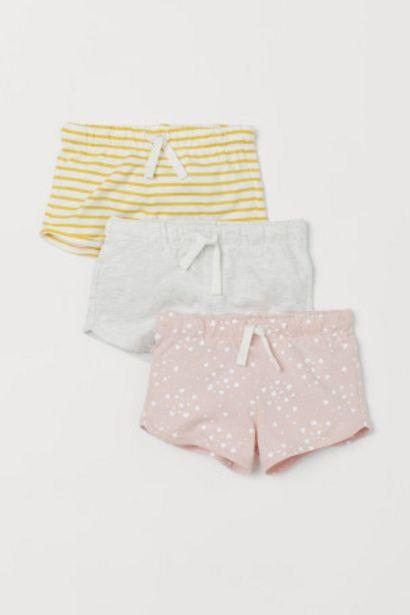 Lot de 3 shorts en jersey offre à 8,99€
