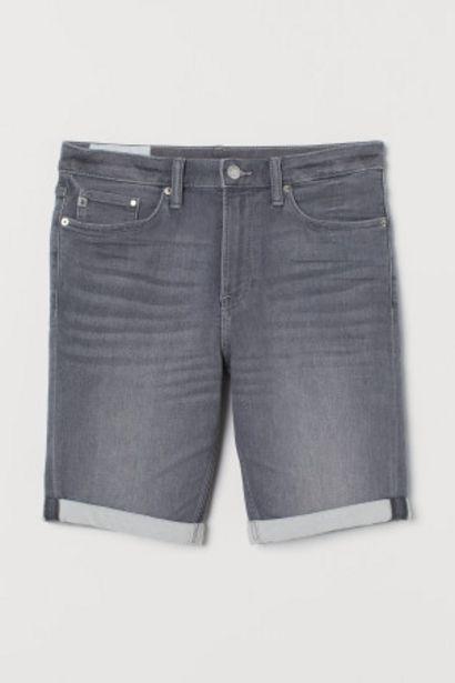 Short en jean Slim offre à 14,99€