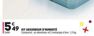 Kit absorbeur d'humidité offre à 5,49€