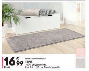 Tapis  offre à 16,99€