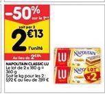 Napolitain classic Lu offre à 2,84€