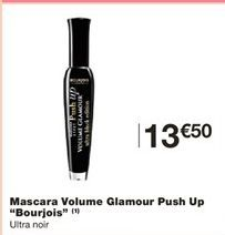 "Mascara volume glamour push up ""Bourjois"" offre à 13,5€"