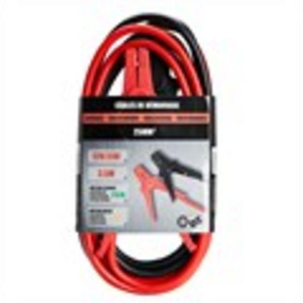 Câbles de démarrage 25 mm² - 3,5 m 12V/24V offre à 8,95€