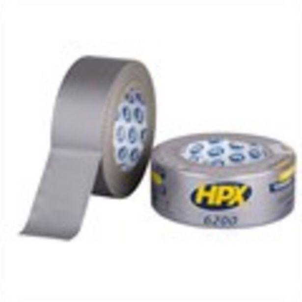 Ruban adhésif américain argenté 50 mm x 25 m HPX offre à 5,45€