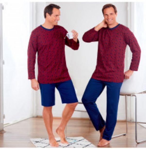 Pyjama short et pantalon offre à 13,99€
