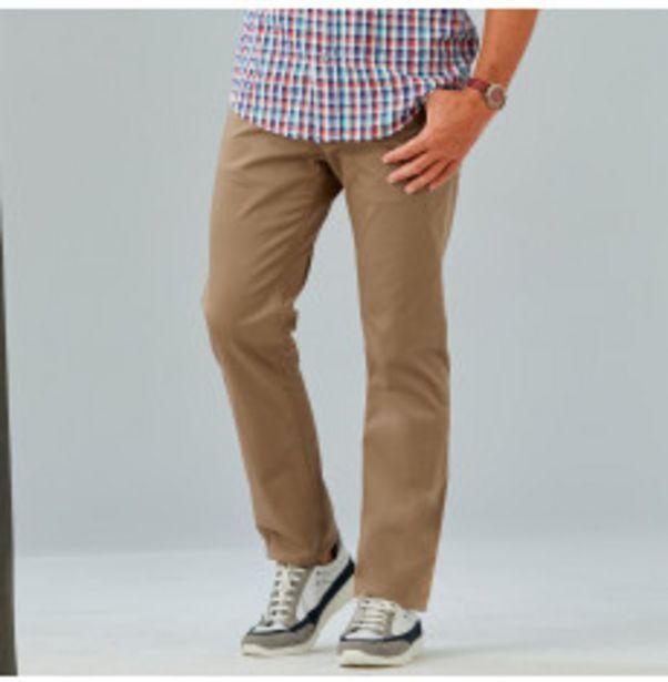 Pantalon homme en twill coton offre à 18,79€
