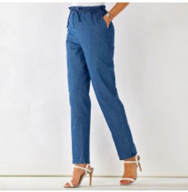 Pantalon jean denim confort offre à 14,39€