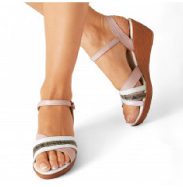Sandales talons compensés offre à 22,79€