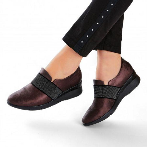 Baskets femme cuir Confort offre à 69,99€