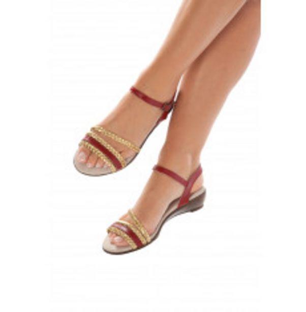 Sandales bicolores offre à 27,49€