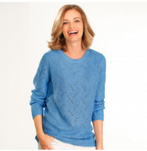 Pull maille douce fantaisie offre à 11,99€