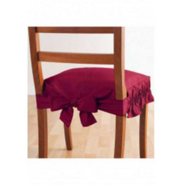 Dessus de chaise en lot de 2 offre à 13,98€