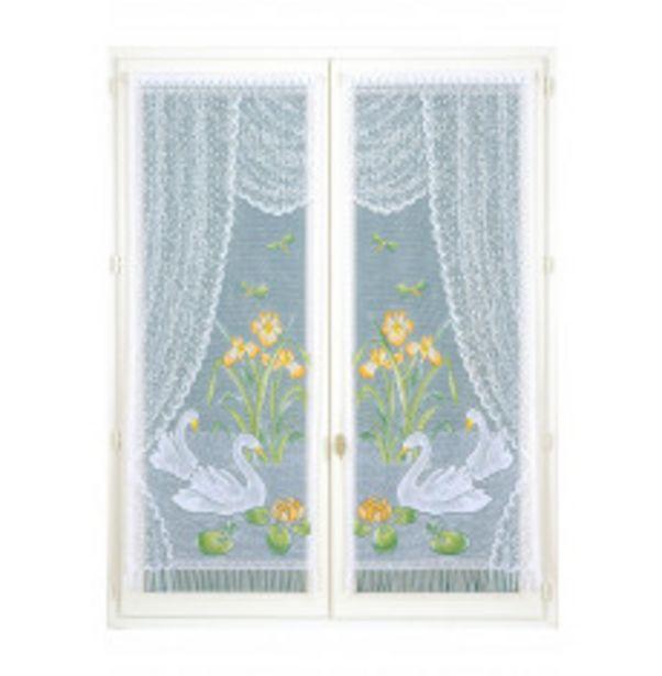 Paire de rideaux festonnés offre à 7,99€