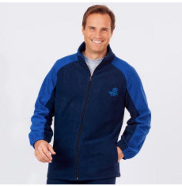 Veste polaire zippée homme offre à 17,49€