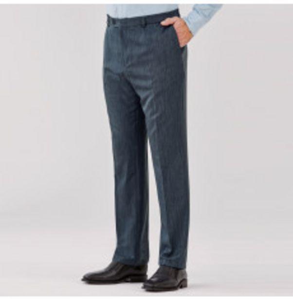 Pantalon chiné Qualité Or offre à 15,99€