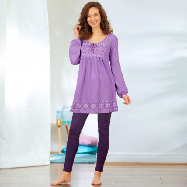 Pyjama femme manches longues offre à 24,99€