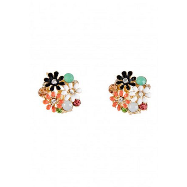 Boucles d'oreilles fleurs clip offre à 3,89€