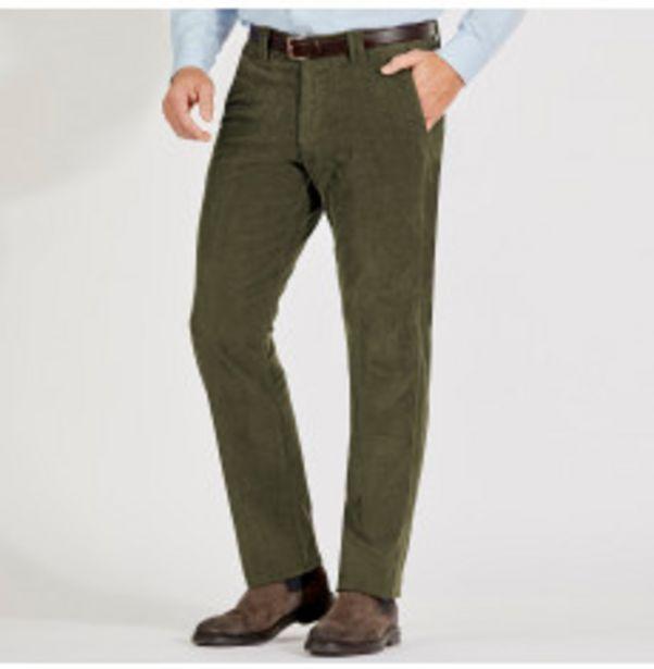 Pantalon homme velours côtelé offre à 19,99€