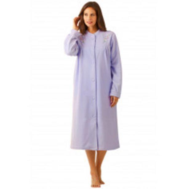Robe de chambre brodée offre à 19,2€