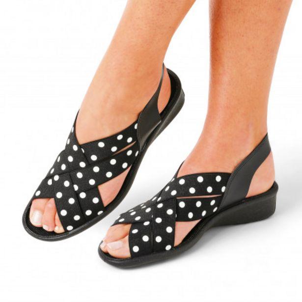 Sandales à lanières élastiquée offre à 27€