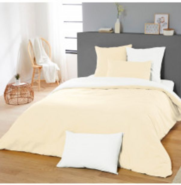 Parure de lit réversible offre à 19,99€