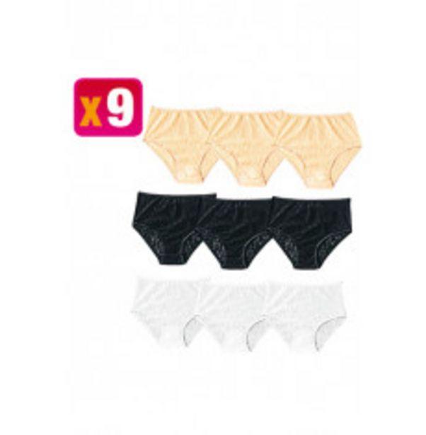Culotte x 9 offre à 30,24€