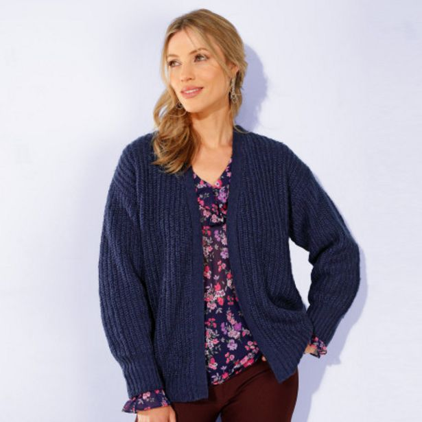 Cardigan grosse maille anglais offre à 14,99€