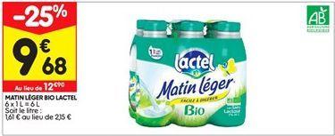 Lait Lactel Lactel offre à 9,68€
