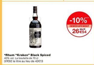 Rhum offre à 26,54€