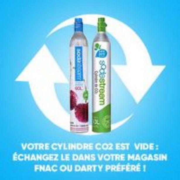 Cylindre de CO² pour échange Sodastream offre à 29,9€