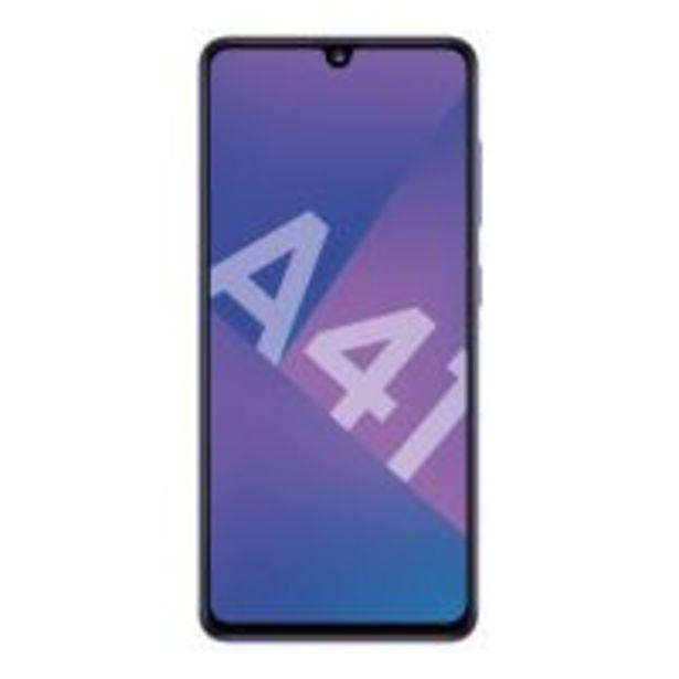 Smartphone Samsung Galaxy A41 Double SIM 64 Go Bleu Prisme offre à 249€