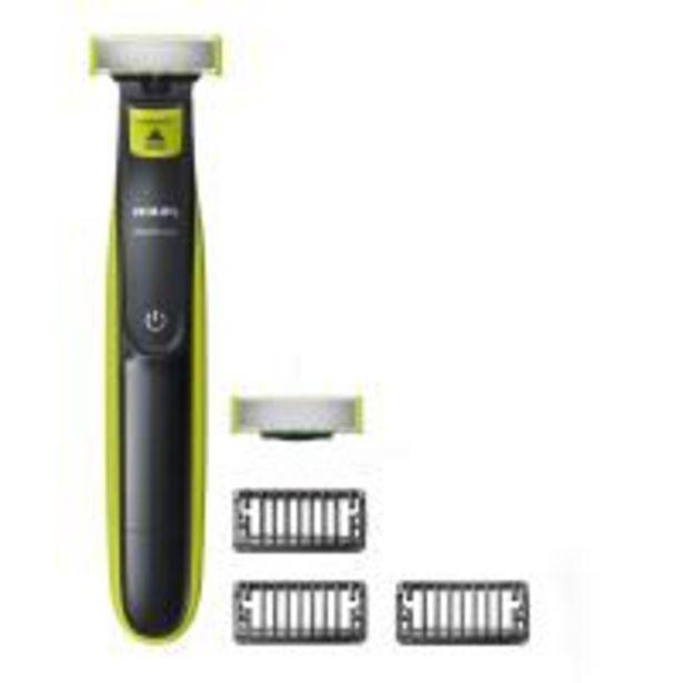 Rasoir Philips QP2520/30 OneBlade avec lame de rechange + 3 sabots barbe offre à 19,99€