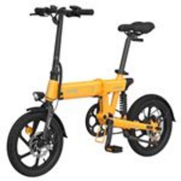"""Vélo électrique pliant HIMO Z16 Jaune - Pliable, 16"""", 250W, Batterie amovible 10Ah offre à 549€"""