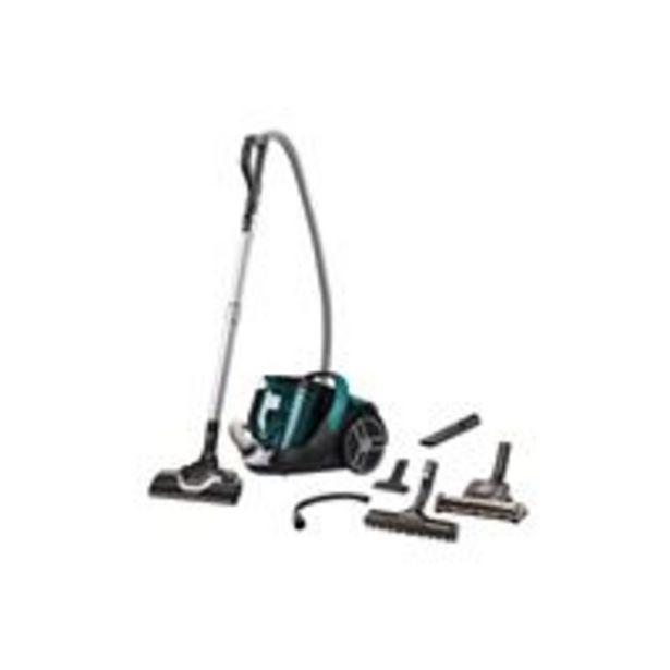 Aspirateur sans sac Rowenta Silence Force Cyclonic RO7282EA 550 W Vert et Noir offre à 149,99€