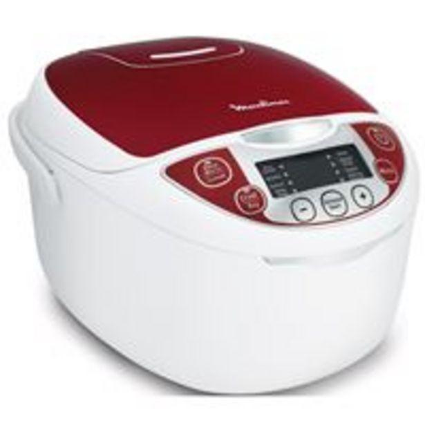 Moulinex mk705111 multicuiseur traditionnel 12-en-1 rouge 5 l offre à 89,9€