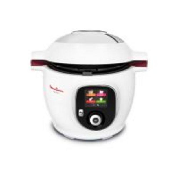 Mijoteur Moulinex Cookeo CE700100 Blanc 100 recettes + louche offerte offre à 240,31€
