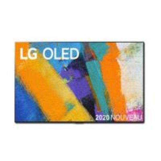 "TV LG OLED65GX 65"" OLED 4K UHD Smart TV Noir 2020 offre à 2999€"