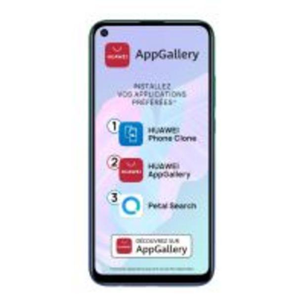 Smartphone Huawei P40 Lite E 2020 64 Go Double SIM Bleu aurore offre à 169€