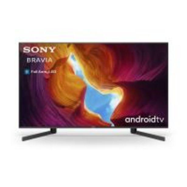 "TV Sony KD49XH9505BAEP 4K HDR Full LED Smart TV 49"" Noir offre à 799,99€"