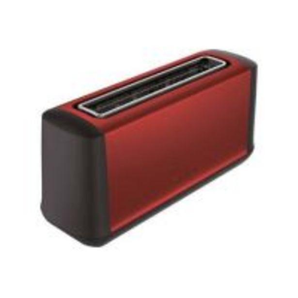 Grille pain Moulinex Subito Select LS340E11 Rouge offre à 32,99€