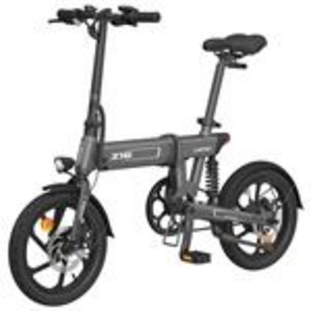 """Vélo électrique pliant HIMO Z16 Gris - Pliable, 16"""", 250W, Batterie amovible 10Ah offre à 549€"""