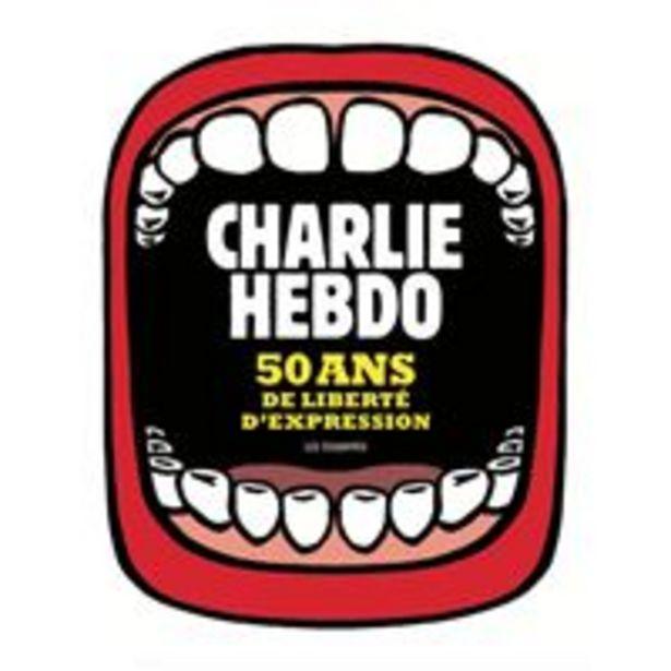 Charlie Hebdo, 50 ans de liberté d'expression - broché offre à 39€