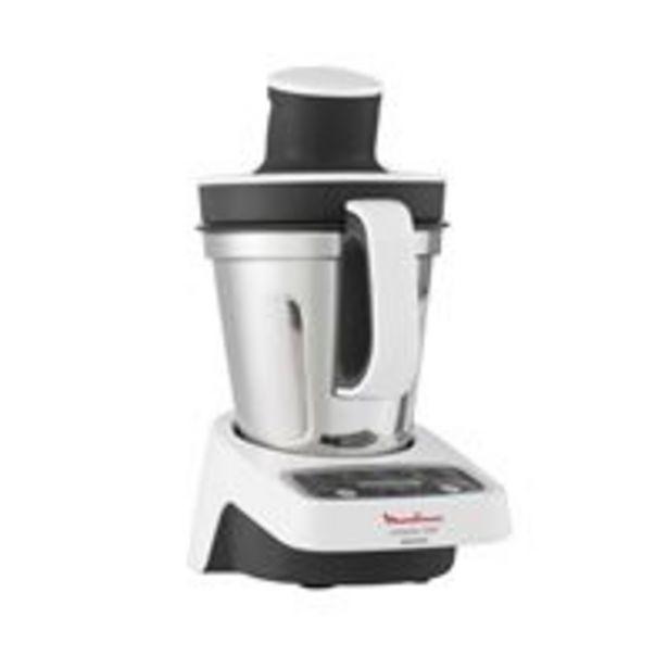 Robot cuiseur Moulinex Compact Chef HF405110 1000 W Blanc offre à 149,99€