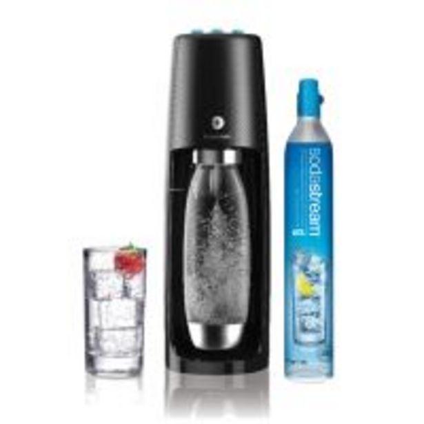 Machine à soda et eau gazeuse Sodastream Spirit One Touch Noir offre à 114,99€