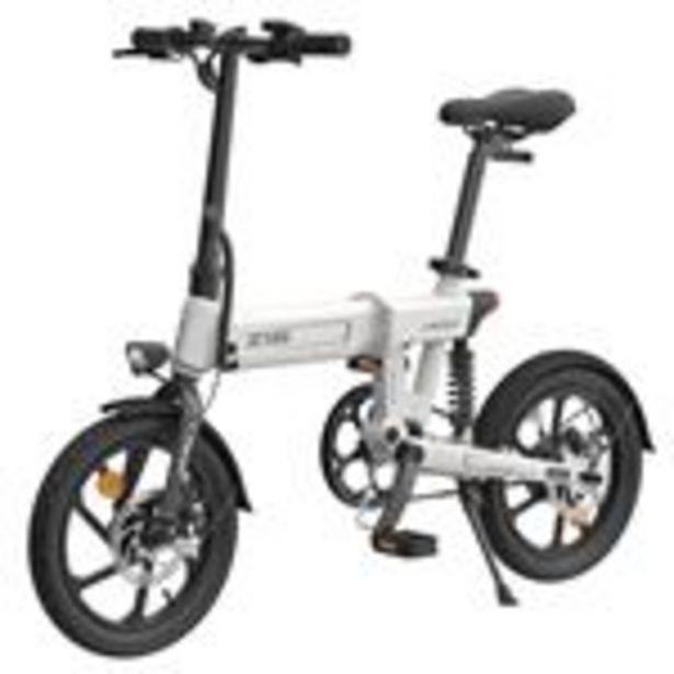"""Vélo électrique pliant HIMO Z16 Blanc - Pliable, 16"""", 250W, Batterie amovible 10Ah offre à 549€"""