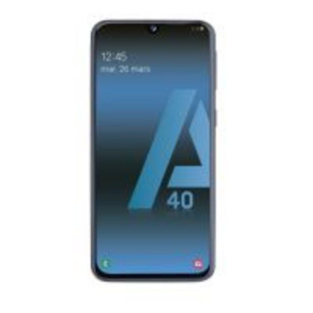 Smartphone Samsung Galaxy A40 Double SIM 64 Go Noir offre à 209€
