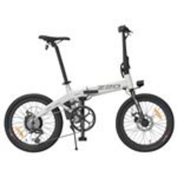 """Vélo électrique pliant HIMO Z20 Blanc - Pliable, 20"""", 250W, Batterie amovible 36V 10Ah offre à 689,99€"""