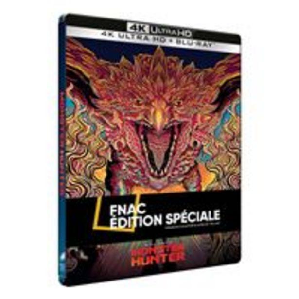 Monster Hunter Edition Spéciale Fnac Steelbook Blu-ray 4K Ultra HD - Blu-ray 4K offre à 29,99€