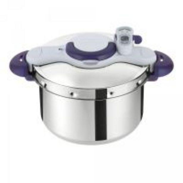 Autocuiseur Seb Clipso Minut'Perfect Inox 9L Violet offre à 178,99€